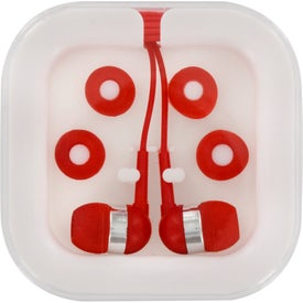 Ear Buds In Case for Your Organization