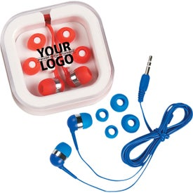Ear Buds In Case with Your Logo