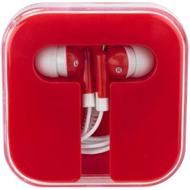 Ear Buds in Compact Case Giveaways