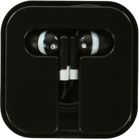 Printed Ear Buds in Compact Case