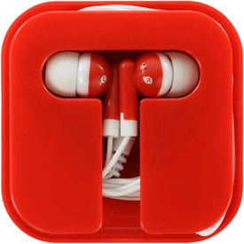 Customized Ear Buds in Compact Case