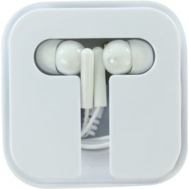 Ear Buds in Compact Case for Your Company
