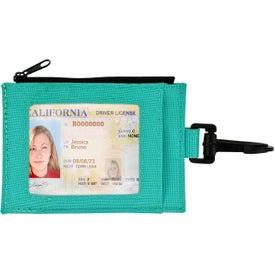 Imprinted Ear Buds in Travel Wallet
