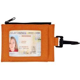 Branded Ear Buds in Travel Wallet