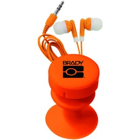 Ear Buds With Ear Bud Buddy for your School