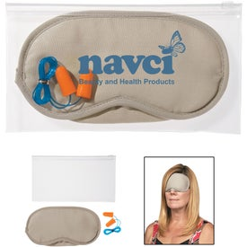 Ear Plugs and Eye Mask Set