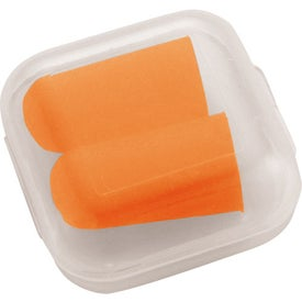 Monogrammed Ear Plugs in Case