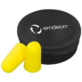 Ear Protection in Round Case for Your Company