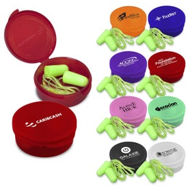 Personalized Ear Protection with Cord