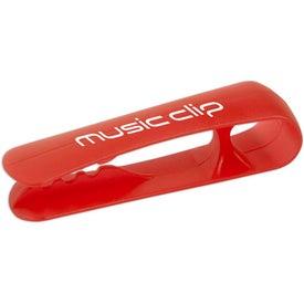 Logo Earbud Wrap & Clip