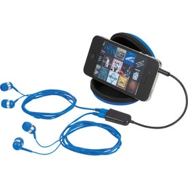 Sound Off Earbuds and Splitter With Case for Customization