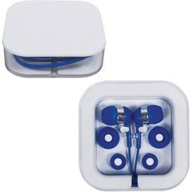 Custom Earbuds in Square Case