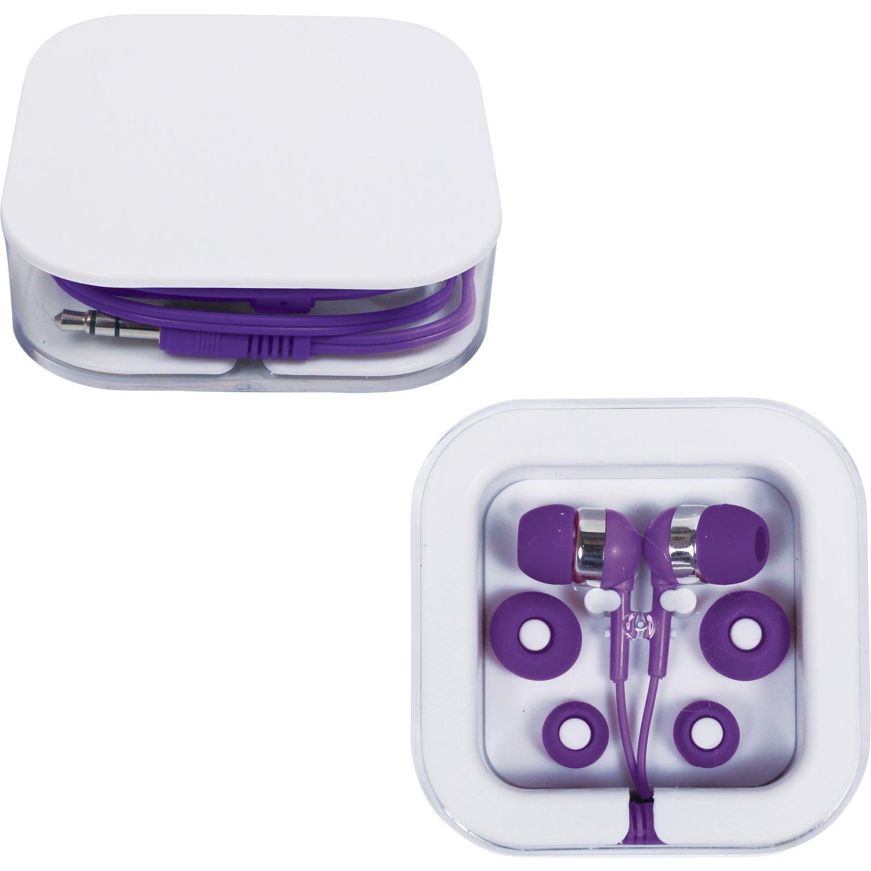 Wireless earbud case - square earbud case