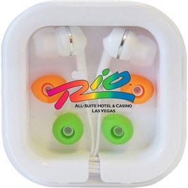 Earbuds in Travel Case