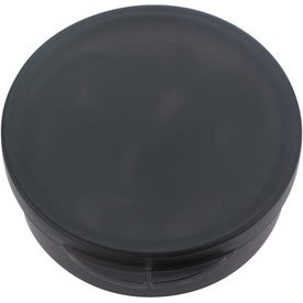 Company Ear Buds In Round Plastic Case