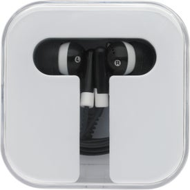Customized Earbuds With Carry Case
