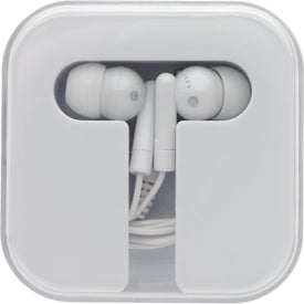 Printed Earbuds With Carry Case