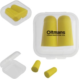 Earplugs in Square Case