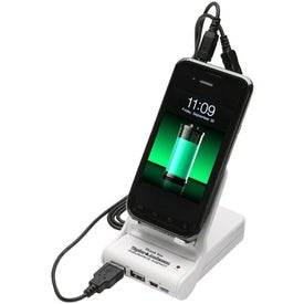 Easel Dual Power Bank Porta-Charger for your School