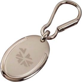 Easy Clip Keytag Oval