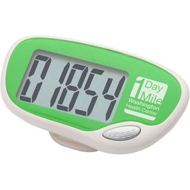 Easy Read Large Screen Pedometer for Customization