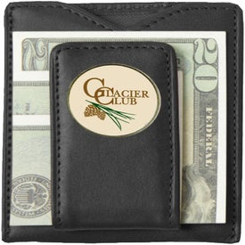 Easy View Magnetic Wallet Printed with Your Logo