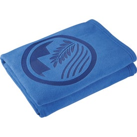 Eco Fleece Blanket for Your Company