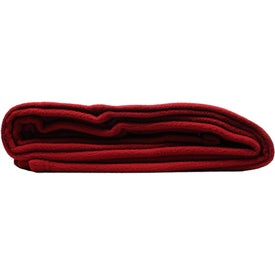 Branded Eco Fleece Blanket