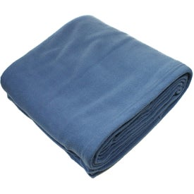 Logo Eco Fleece Blanket
