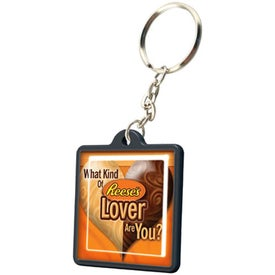 Economical Square Keychain for Customization