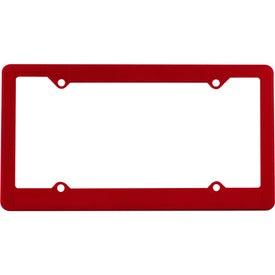 Economy License Plate Frame for Advertising