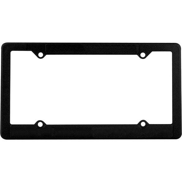 Black Economy License Plate Frame  sc 1 st  Quality Logo Products : liscence plate holder - pezcame.com