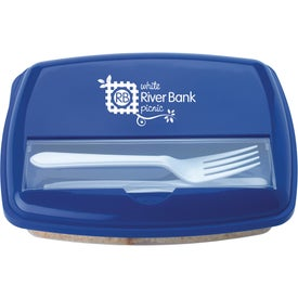 Monogrammed Economy Lunch Box