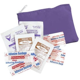Monogrammed Economy First Aid Kit with Internal Meds
