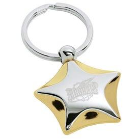 Elements Star Keyring