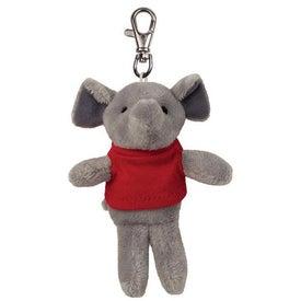 Elephant Plush Key Chain