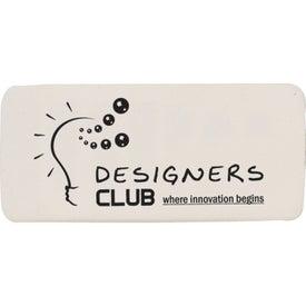 Eliminator Eraser Imprinted with Your Logo