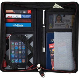 Elleven Jet Setter Travel Wallet for Your Organization