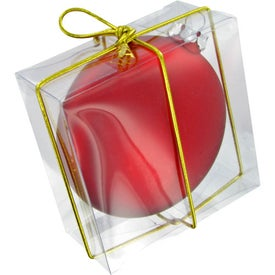 Ellipsoid Tablet Ornament with Your Logo