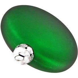 Ellipsoid Tablet Ornament Imprinted with Your Logo