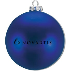Ellipsoid Tablet Ornament Printed with Your Logo
