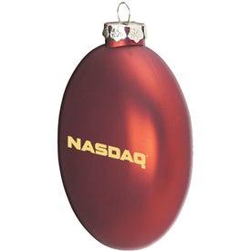 "Ellipsoid Tablet Ornament (3 3/4"")"