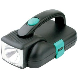 Printed Emergency Flashlight Tool Kit