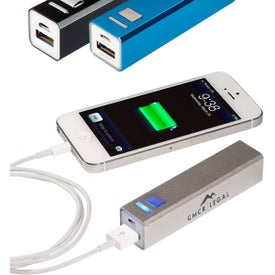 Emergency Mobile Charger (2200 mAh, UL Listed)