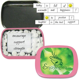 Encouraging Mints Branded with Your Logo