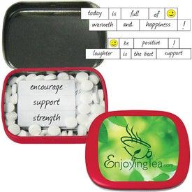 Monogrammed Encouraging Mints