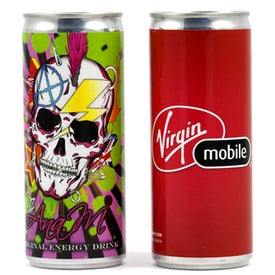 Energy Drink with Your Logo