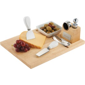Entertainer Wine & Cheese Board with Your Logo