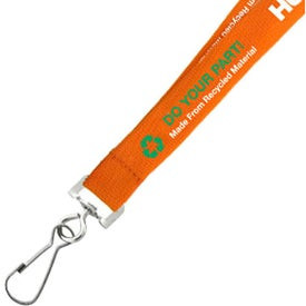 Environmentally Friendly Euro Soft Lanyard for Your Organization