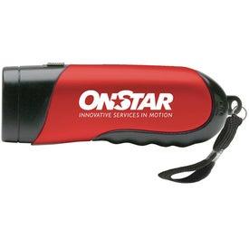 Ergonomic LED flashlight